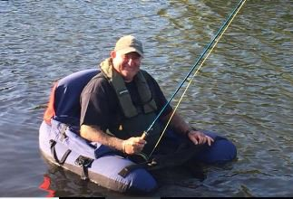 Andy Syme Fly Fishing at Kinross Trout Fishery and Activity Centre, Scotland